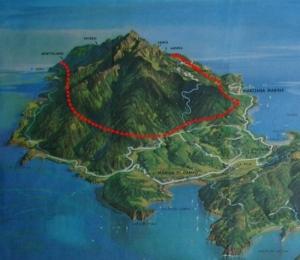 """Veduta prospettica della """"GALLERIA SERBATOIO"""" dell'Isola d'Elba"""