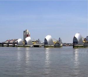 Sbarramento del Tamigi a Londra