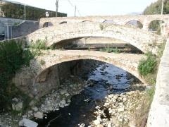 Ponte canale che un tempo alimentava la città di Loano (SV)