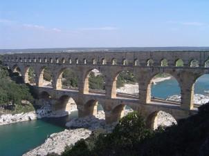 Acquedotto romano di Pont di Gardc(Francia)