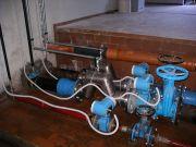Esempio di collegamenti elettrico per la trasmissione dei dati Foto gentilmente concessa da Alborad