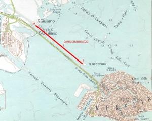 Condotta-serbatoio previsto per Venezia prvisto (mc. 40000)