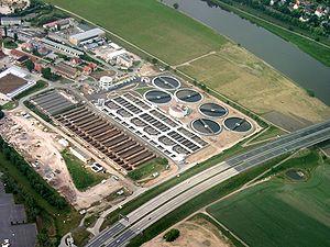 Esempio di impianto di depurazione acque reflue