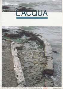"""Copertina del n. 3/1998 della rivista """"L'ACQUA"""" organo ufficiale della Associazione Idrotecnica Italiana"""