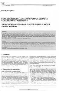 La pagina della rivista con il riassunto dell'articolo in italiano ed in inglese
