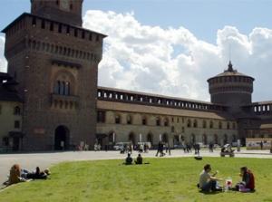 Ex serbatoi acquedotto del Castello Sforzesco