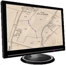 Mappa catastale digitalizzata