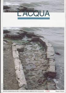 """Copertina del n. 3/1998 della rivista """"L'ACQUA"""""""