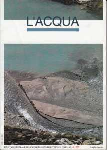 Rivista L'ACQUA n. 4 anno 1999 con articolo di Marcello Meneghin