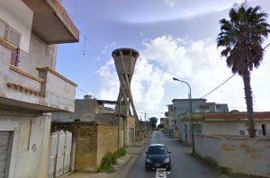 Il serbatoio pensile di Castelvetrano