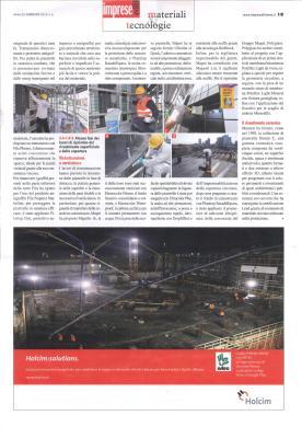 La seconda ed ultima pagina dell'articolo